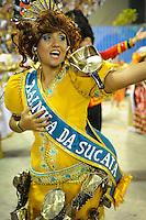 RIO DE JANEIRO, RJ, 21 DE FEVEREIRO 2012 - CARNAVAL 2012 - DESFILE UNIDOS DA TIJUCA - Desfile da escola de samba Unidos da Tijuca no segundo dia de desfiles das Escolas de Samba do Grupo Especial do Rio de Janeiro, no sambodromo da Marques de Sapucai, no centro da cidade, nesta terça-feira.  (FOTO: GLAICON EMRICH  - BRAZIL PHOTO PRESS).