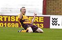 18/08/2007       Copyright Pic: James Stewart.File Name : sct_jspa04_motherwell_v_kilmarnock.DAVID CLARKSON CELEBRATES AFTER HE SCORES MOTHERWELL'S FIRST....James Stewart Photo Agency 19 Carronlea Drive, Falkirk. FK2 8DN      Vat Reg No. 607 6932 25.Office     : +44 (0)1324 570906     .Mobile   : +44 (0)7721 416997.Fax         : +44 (0)1324 570906.E-mail  :  jim@jspa.co.uk.If you require further information then contact Jim Stewart on any of the numbers above........