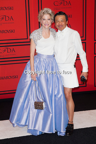 NEW YORK, NY - JUNE 3: Julie Macklowe, Zang Toi at the 2013 CFDA Fashion Awards at Lincoln Center's Alice Tully Hall in New York City. June 3, 2013. <br /> Credit: MediaPunch/face to face<br /> - Germany, Austria, Switzerland, Eastern Europe, Australia, UK, USA, Taiwan, Singapore, China, Malaysia, Thailand, Sweden, Estonia, Latvia and Lithuania rights only -