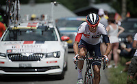 Reto Hollenstein (SUI/IAM)<br /> <br /> Stage 18 (ITT) - Sallanches &rsaquo; Meg&egrave;ve (17km)<br /> 103rd Tour de France 2016