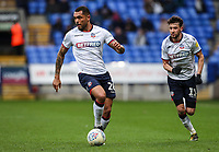 Bolton Wanderers' Josh Magennis breaks with Will Buckley in support<br /> <br /> Photographer Andrew Kearns/CameraSport<br /> <br /> The EFL Sky Bet Championship - Bolton Wanderers v Millwall - Saturday 9th March 2019 - University of Bolton Stadium - Bolton <br /> <br /> World Copyright © 2019 CameraSport. All rights reserved. 43 Linden Ave. Countesthorpe. Leicester. England. LE8 5PG - Tel: +44 (0) 116 277 4147 - admin@camerasport.com - www.camerasport.com