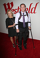 CENTURY CITY, CA - OCTOBER 03: Gary A. Linfoot, Mari Linfoot, at Westfield Century City Reopening Celebration at Westfield Century City Mall, California on October 03, 2017. <br /> CAP/MPI/FS<br /> &copy;FS/MPI/Capital Pictures