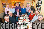 The staff of Kerry County Council Listowel Roads division enjoying their Christmas party at Behan's Horseshoe Bar & Restaurant, Listowel on Friday night last.