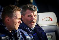 Nottingham Forest assistant manager Roy Keane<br /> <br /> Photographer Alex Dodd/CameraSport<br /> <br /> The EFL Sky Bet Championship - Preston North End v Nottingham Forest - Saturday 16th February 2019 - Deepdale Stadium - Preston<br /> <br /> World Copyright © 2019 CameraSport. All rights reserved. 43 Linden Ave. Countesthorpe. Leicester. England. LE8 5PG - Tel: +44 (0) 116 277 4147 - admin@camerasport.com - www.camerasport.com