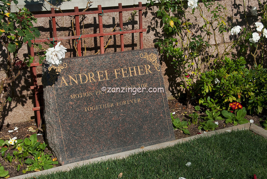 Andrei Feher Motion Picture Director, Westwood Village Memorial Park celebrity, graves