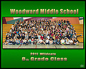 Woodward 8th Grade Class Photo
