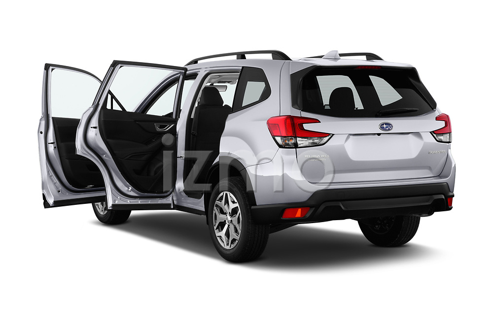 Car images close up view of a 2020 Subaru Forester Premium 5 Door Wagon doors