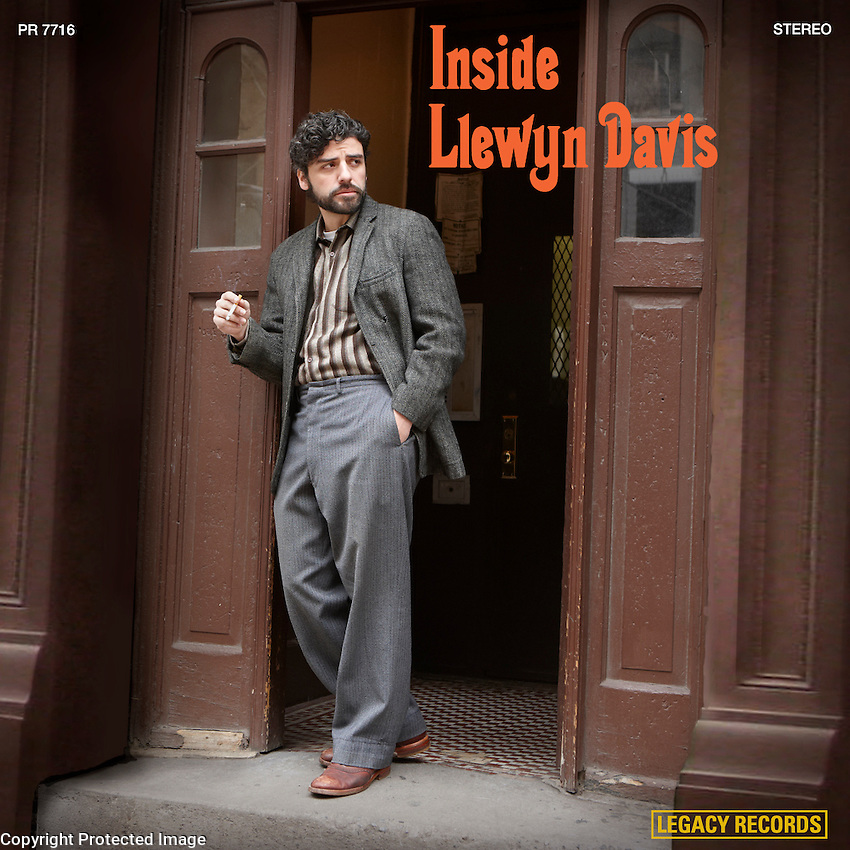 "This album cover is based on the album ""Inside/Dave Van Ronk"". The movie is loosely based on Van Ronk's memoirs."