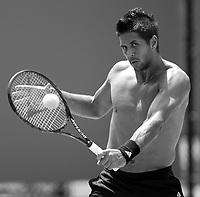 Melbourne Park Australian Open Tennis Day 6 22/01/2011.....Photo: Mike Frey Fotosports International.