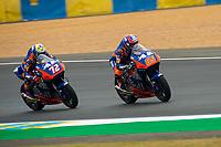 #65 PHILIPP OTTL (GER) RED BULL KTM TECH3 (FRA) KTM MOTO2 #72 MARCO BEZZECCHI (ITA) RED BULL KTM TECH3 (FRA) KTM MOTO2