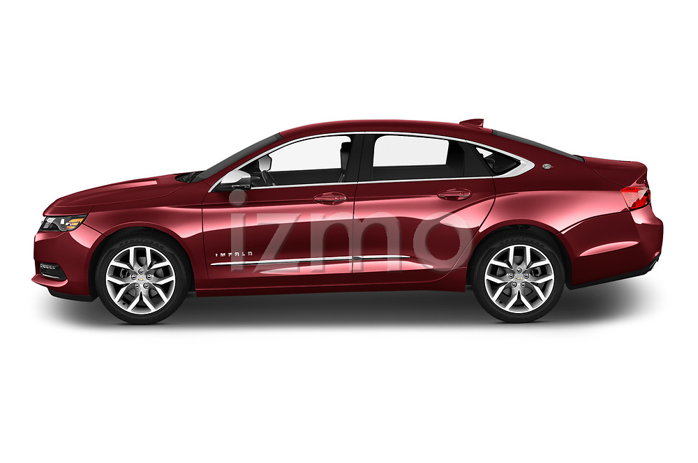 Car Driver side profile view of a 2020 Chevrolet Impala Premier 4 Door Sedan Side View