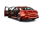 Car images of a 2015 BMW M3 4 Door Sedan Doors