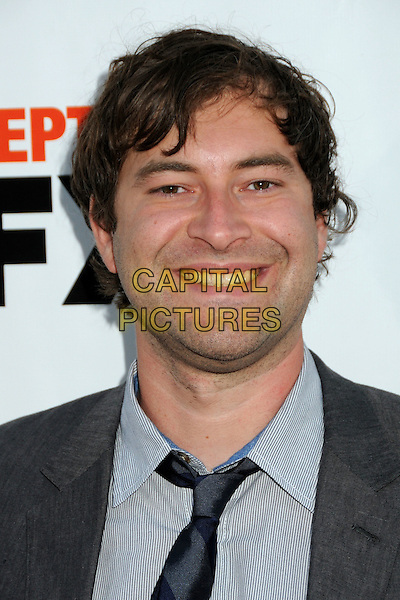 "MARK DUPLASS .""It's Always Sunny in Philadelphia"" Season Five and ""The League"" Season One Premiere Screening Celebrating the Sept. 14th DVD/Blu-Ray Release held at The Cinerama Dome, Hollywood, California, USA, 14th September 2010..portrait headshot black tie grey gray shirt smiling .CAP/ADM/BP.©Byron Purvis/AdMedia/Capital Pictures."
