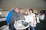 Celebrity Golf @ Golf Live.L-R: Simon Dutton, Brian Hall, Alison Dutton & Clare Hall..Celtic Manor Resort.12.05.13.©Steve Pope