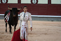 Miguel ?Ångel Delgado at the Bullfight Virgen de la Paloma festivity