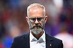 13.09.2019, Paleis 12, BrŸssel / Bruessel<br />Volleyball, Europameisterschaft, Belgien (BEL) vs. …sterreich / Oesterreich (AUT)<br /><br />Michael Warm (Trainer / Coach AUT)<br /><br />  Foto © nordphoto / Kurth
