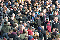 Crowd trouble during West Ham United vs Burnley, Premier League Football at The London Stadium on 10th March 2018