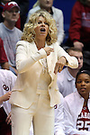 17 December 2014: Oklahoma head coach Sherri Coale. The Duke University Blue Devils hosted the University of Oklahoma Sooners at Cameron Indoor Stadium in Durham, North Carolina in a 2014-15 NCAA Division I Women's Basketball game. Duke won the game 92-72.