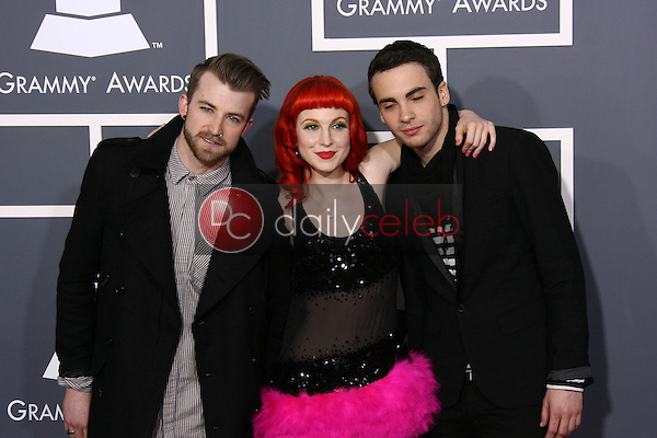 Paramore<br /> at the 53rd Annual Grammy Awards, Staples Center, Los Angeles, CA. 02-13-11<br /> David Edwards/DailyCeleb.com 818-249-4998