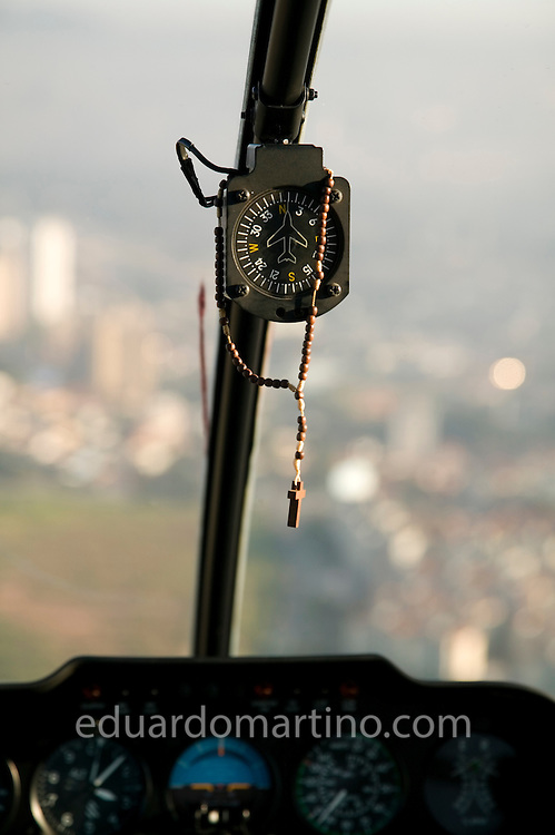 On November 1st 2007, three helicopters crashed within two hours in or around Sao Paulo, killing three and injuring five. The more helicopters flying, the higher the probability of accidents.