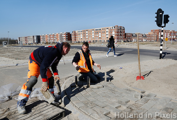 Stratenmakers in Almere Poort