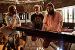 September 14, 2010.  Durham, North Carolina.. Joe Westerlund, Phil Cook and Matt White.. Day One of Sounds of the South, a reinterpretation of Alan Lomax's field recordings, with music by Megafaun, Fight the Big Bull, Sharon Van Etten and Justin Vernon of Bon Iver..