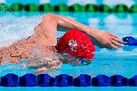 Picture by Alex Whitehead/SWpix.com - 06/04/2018 - Commonwealth Games - Swimming - Optus Aquatics Centre, Gold Coast, Australia - Jacob Leach of England during the Men's S9 100m Freestyle heats.