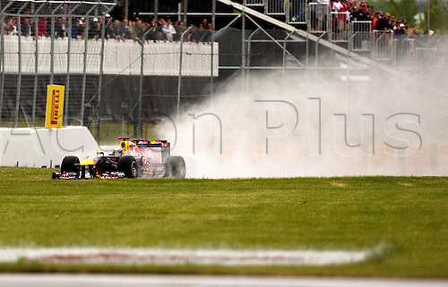 12.06.2011 Canadian Formula One Grand Prix from the Circuit Gilles Villeneuve. Picture shows Sebastian Vettel of Germany.