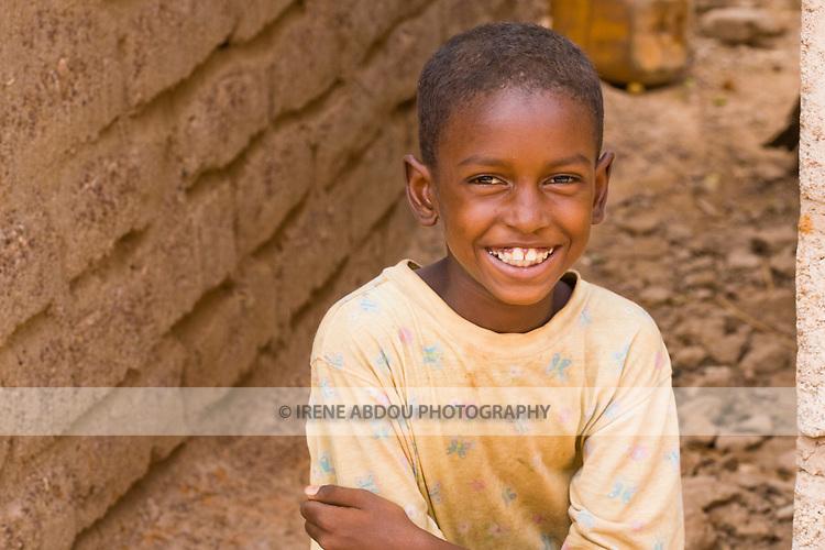 Fulani boy in Ouagadougou, Burkina Faso.