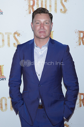 NEW YORK, NY - MAY 23: Lane Garrison attends History's premiere screening of 'Night One' of the four night epic event series, 'Roots' at Alice Tully Hall on May 23, 2016 in New York City. Credit: Diego Corredor/MediaPunch