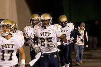 01 December 2007: LeSean McCoy (25)..The Pitt Panthers upset the West Virginia Mountaineers 13-9 on December 01, 2007 in the 100th edition of the Backyard Brawl at Mountaineer Field, Morgantown, West Virginia.