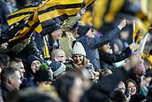 2nd December 2017, Rioch Arena, Coventry, England; Aviva Premiership rugby, Wasps versus Leicester; The Wasps fans celebrate their team winning
