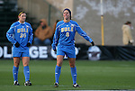04 December 2009: UCLA's Lauren Cheney (8) and Kristina Larsen (20). The Stanford University Cardinal defeated the University of California Los Angeles Bruins 2-1 in sudden victory overtime at the Aggie Soccer Complex in College Station, Texas in an NCAA Division I Women's College Cup Semifinal game.