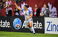 Vancouver, Canada - Thursday November 09, 2017: Carli Lloyd during an International friendly match between the Women's National teams of the United States (USA) and Canada (CAN) at BC Place.
