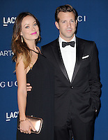 LOS ANGELES, CA - NOVEMBER 02:  Olivia Wilde &amp; Jason Sudeikis at  LACMA 2013 Art + Film Gala held at LACMA  in Los Angeles, California on November 2nd, 2012 in Los Angeles, CA., USA.<br /> CAP/DVS<br /> &copy;DVS/Capital Pictures
