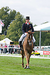 Oliver Townend during day 2 of the dressage phase at the 2012 Land Rover Burghley Horse Trials in Stamford, Lincolnshire,UK.