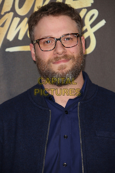 09 April 2016 - Burbank, California - Seth Rogen. 2016 MTV Movie Awards held at Warner Bros. Studios. <br /> CAP/ADM/SAM<br /> &copy;SAM/ADM/Capital Pictures