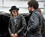 Beck (real name Beck Hansen) backstage at Outside Lands Festival at Golden Gate Park in San Francisco, California.