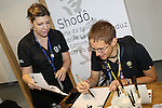 General view, <br /> SEPTEMBER 7, 2016 :<br /> Experience zones of Japanese culture, Japanese calligraphy Shodo during the Japan House sneak preview for media at the Rio 2016 Paralympic Games in Rio de Janeiro, Brazil. <br /> (Photo by Shingo Ito/AFLO)