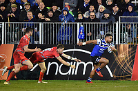 Cooper Vuna of Bath Rugby races clear. Gallagher Premiership match, between Bath Rugby and Sale Sharks on December 2, 2018 at the Recreation Ground in Bath, England. Photo by: Patrick Khachfe / Onside Images