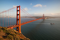 United States of America, California, San Francisco: The Golden Gate Bridge | Vereinigte Staaten von Amerika, Kalifornien, San Francisco: The Golden Gate Bridge