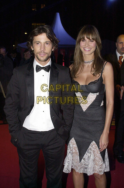 JAY KAY & HEIDI KLUM.Arrivals at the Brit Awards at Earls Court. .Jamiroquai, half length, half-length, lingerie, lace.*RAW SCAN - photo will be adjusted for publication*.www.capitalpictures.com.sales@capitalpictures.com.© Capital Pictures