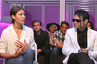 """LOS ANGELES - JUN 9:  Dawn Dunning, Corey Feldman at the """"Famous""""  A Play By Michael Leoni - Talk Back Post Show Discussion at the The 11:11 Experience on June 9, 2019 in West Hollywood, CA"""