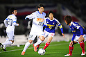 (L-R) Daigo Nishi (Antlers), Shunsuke Nakamura, Yusuke Higa (F Marinos),.MARCH 31, 2012 - Football / Soccer :.2012 J.League Division 1 match between Yokohama F Marinos 0-0 Kashima Antlers at Nissan Stadium in Kanagawa, Japan. (Photo by AFLO)