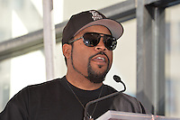 LOS ANGELES, CA. October 10, 2016: Ice Cube at the Hollywood Walk of Fame Star Ceremony honoring comedian Kevin Hart.<br /> Picture: Paul Smith/Featureflash/SilverHub 0208 004 5359/ 07711 972644 Editors@silverhubmedia.com