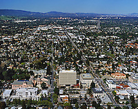 Mountain View California Aerial Photography