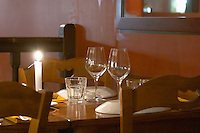 Restaurant Elio's. Sardinian specialities. Bordeaux city, Aquitaine, Gironde, France