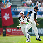 Action from day three of the Karp Group Hong Kong Cricket Sixes at the Kowloon Cricket Club on October 30, 2011 in Hong Kong. Photo by © Mike Pickles / The Power of Sport Images for HKCA