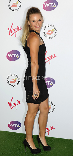 WWW.ACEPIXS.COM . . . . .  ..... . . . . US SALES ONLY . . . . .....June 21 2012, London....Caroline Wozniacki at the Pre-Wimbledon Party at The Roof Gardens on June 21 2012 in London....Please byline: FAMOUS-ACE PICTURES... . . . .  ....Ace Pictures, Inc:  ..Tel: (212) 243-8787..e-mail: info@acepixs.com..web: http://www.acepixs.com