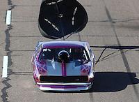 Feb 25, 2017; Chandler, AZ, USA; NHRA top sportsman driver Randy Balough during qualifying for the Arizona Nationals at Wild Horse Pass Motorsports Park. Mandatory Credit: Mark J. Rebilas-USA TODAY Sports
